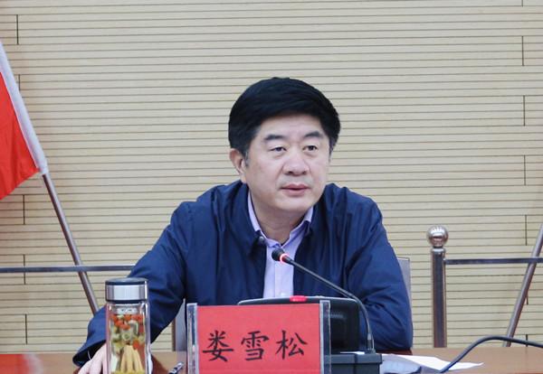 娄雪松为全区村级党组织书记培训班学员作专题辅导报告